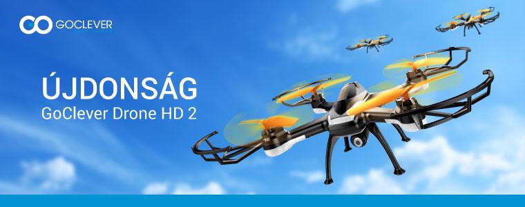 GoClever HD2 drónok