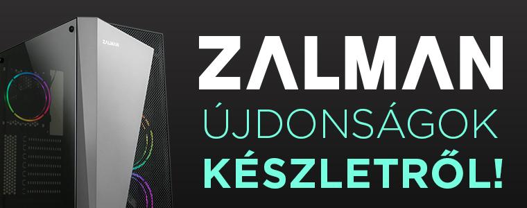 Zalman újdonságok 2021