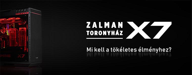 zalman x7 kombó