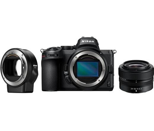 Nikon Z5 + 24-50 f/4-6.3 + FTZ Adapter kit