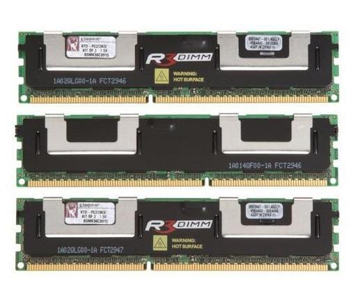 Kingston DDR3 PC10600 1333MHz 24GB DELL ECC KIT3