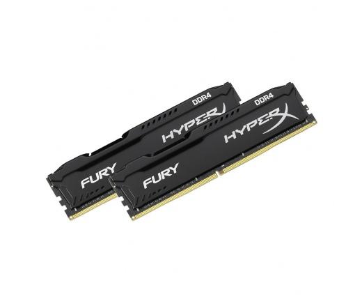 Kingston HyperX Fury DDR4 2666MHz 16GB KIT2 Fekete
