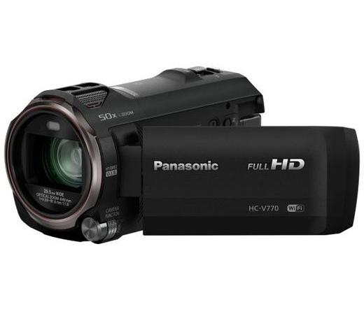 Panasonic HC-V770EP fekete
