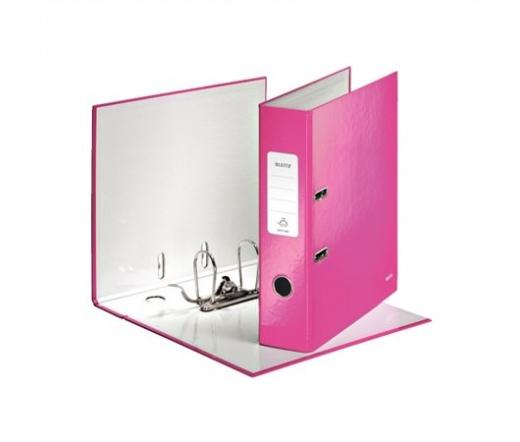 Leitz Iratrendező, 80 mm, A4, Rózsaszín