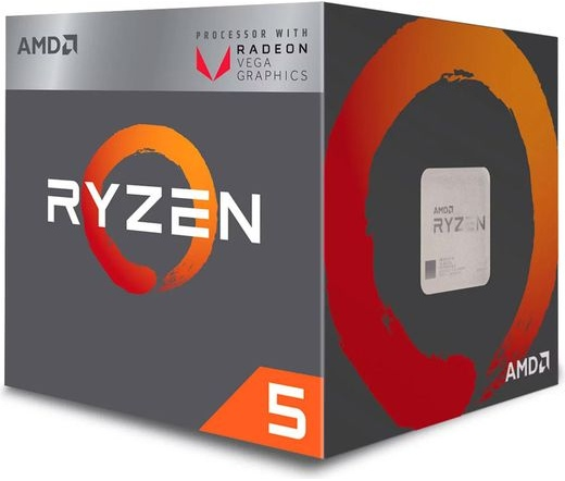 AMD Ryzen 5 2400G dobozos
