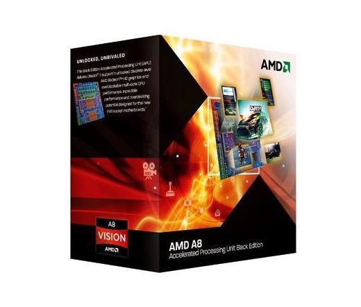 AMD A8-3870K szorzózármentes dobozos