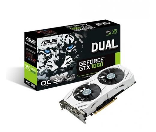 Asus DUAL-GTX1060-O3G 3GB DDR5