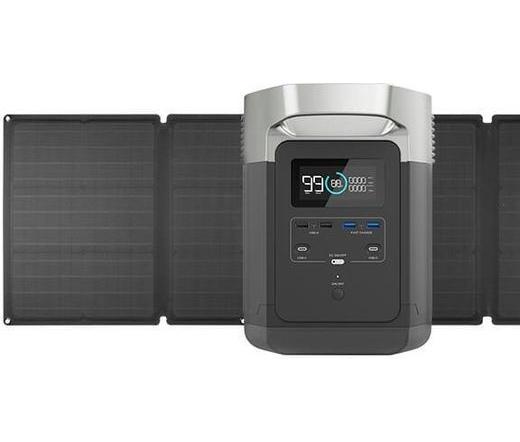 EcoFlow Delta generátor + 1 db napelem