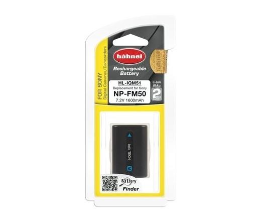 Hahnel HL-IQM51 (Sony NP-FM50 1600mAh)