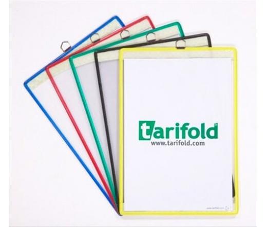 Tarifold Bemutatótábla, függő, A4, álló, sárga