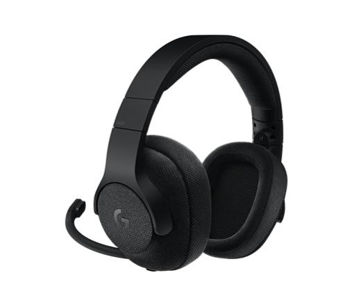 Logitech G433 7.1 Gaming Headset Fekete
