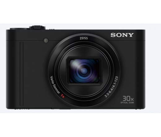 Sérült SONY DSC-WX500 Fekete