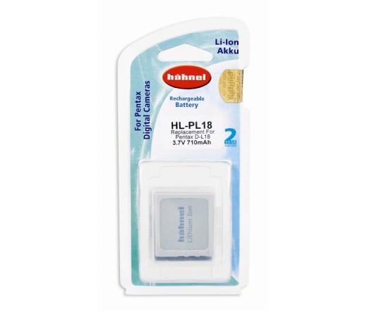 HAHNEL HL-PL18  akkumulátor (Pentax 650 mAh)