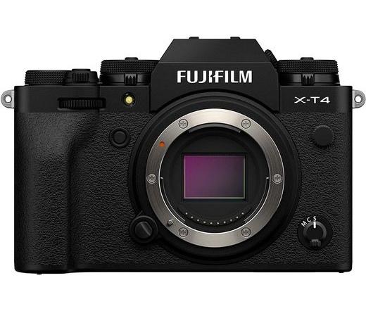 Fujifilm X-T4 fekete váz