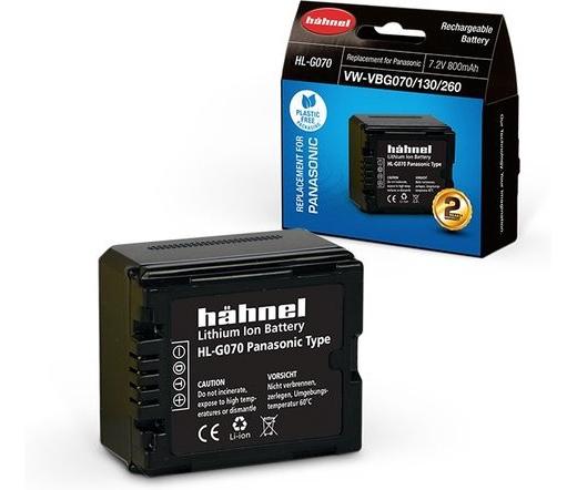 Hahnel HL-G070 (Panasonic VW-VBG070/130/260 800mAh