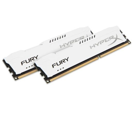 Kingston HyperX Fury 1866MHz 8GB CL10 Kit2 fehér