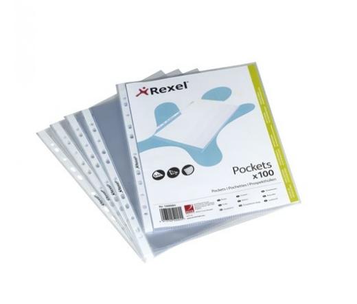 Rexel Genotherm, lefűzhető, A4, 100 db