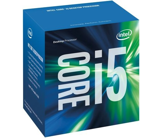 Intel Core i5-7600 dobozos