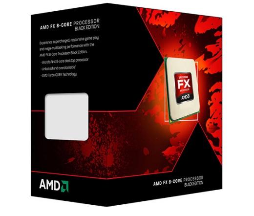 AMD FX-9590 Black Edition dobozos
