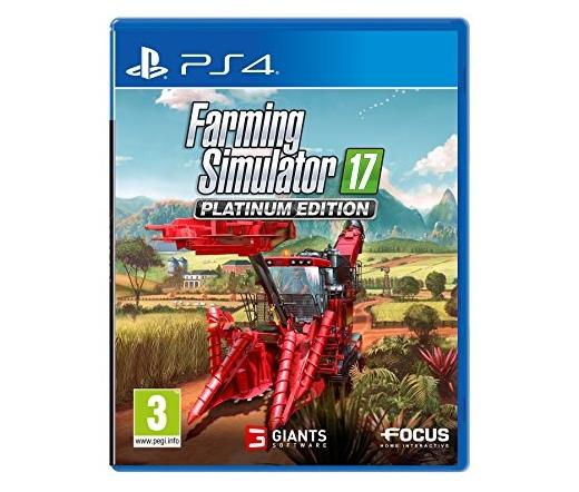 PS4 Farming Simulator 17 - Platinum Edition