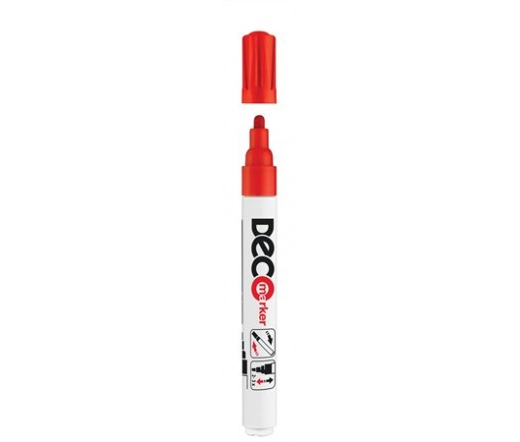 "ICO ""Decomarker"" lakkmarker, 2-4 mm, piros"