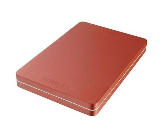 Toshiba Canvio Alu 2TB piros