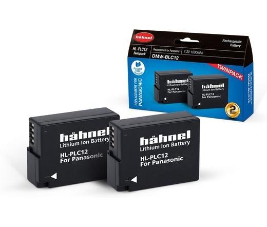 Hahnel HL-PLC12 Twin Pack (Panasonic DMC-BLC12)
