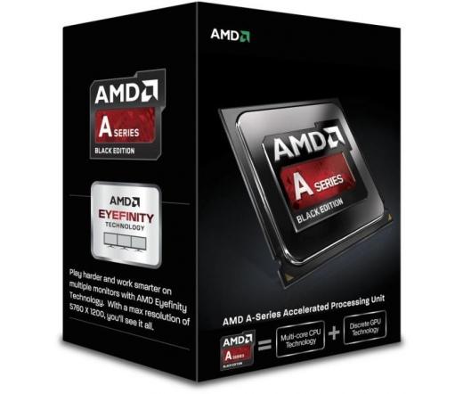AMD A6-7470K dobozos, csendes hűtővel