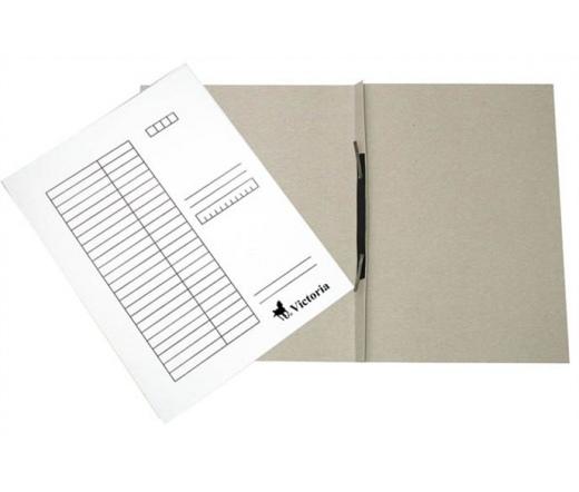 VICTORIA gyorsfűző, karton, A4, fehér (25db)