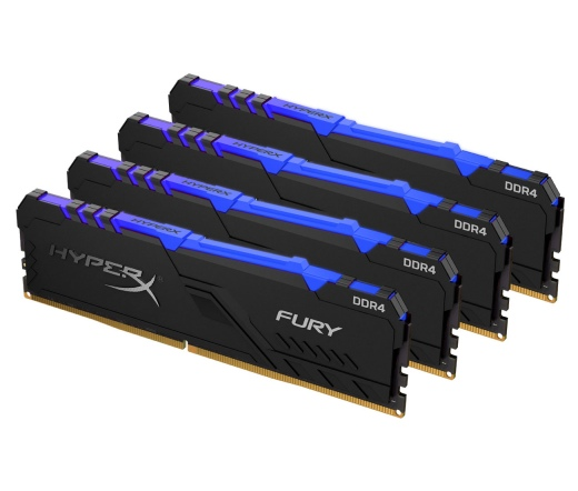 Kingston HyperX Fury RGB DDR4 32GB 2400MHz Kit 4