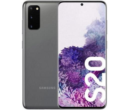 Samsung Galaxy S20 Dual SIM szürke