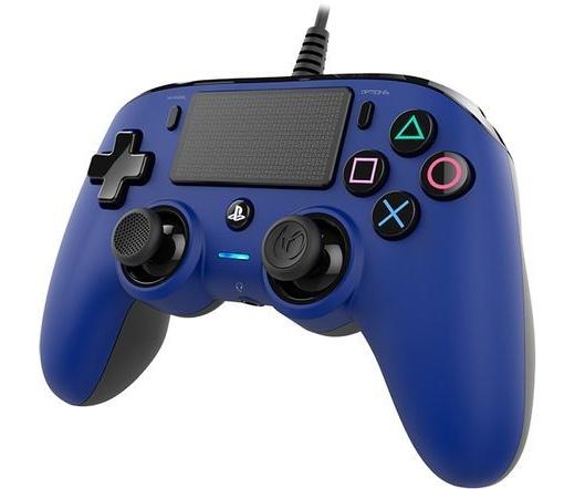 Bigben Nacon PS4 Wired Compact Controller kék