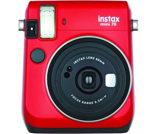 Fujifilm instax mini 70 piros