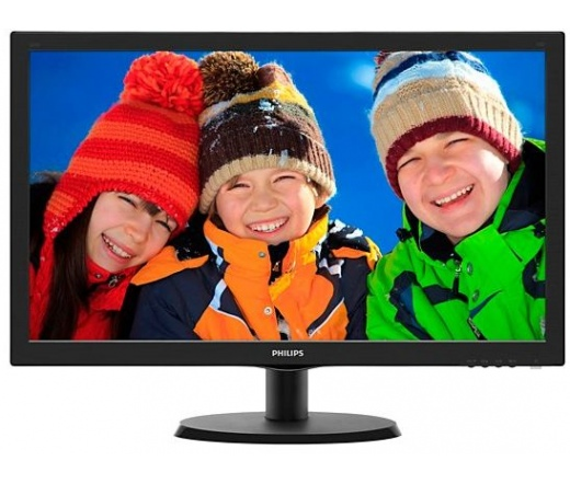 "Philips 223V5LHSB 21,5""-os monitor"
