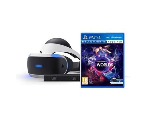 PS VR + Kamera + VR Worlds