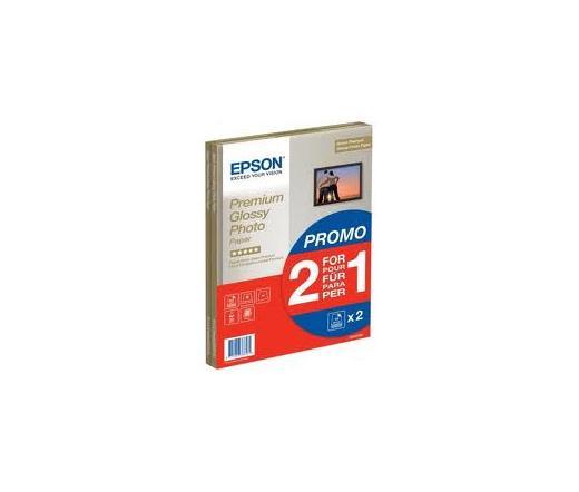 Epson S042169 A4 PREMIUM GLOSSY fotópapír 2x15lap