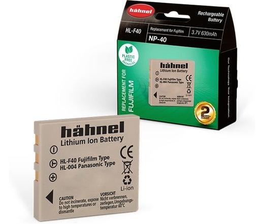 Hahnel HL-F40 (Fujifilm NP-40 630mAh)