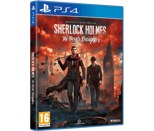 PS4 Sherlock Holmes The Devil's Daughter