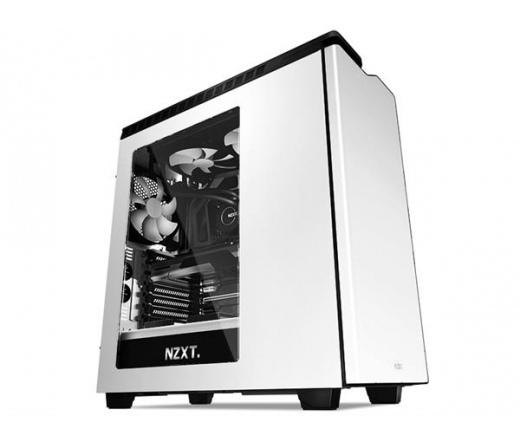 Nzxt H440 V2 fehér/fekete ablakos