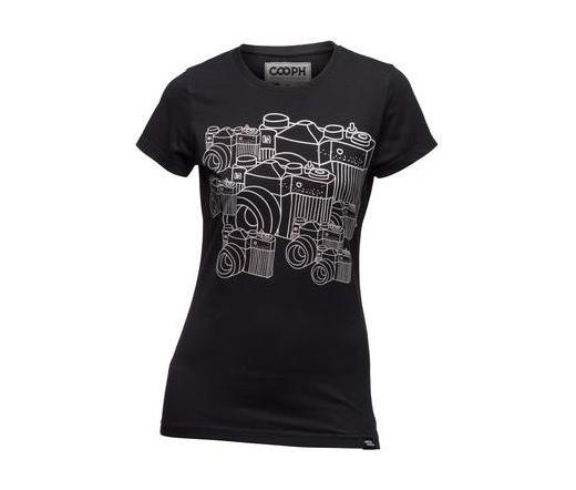 Cooph női póló Multiple OMD fekete XL