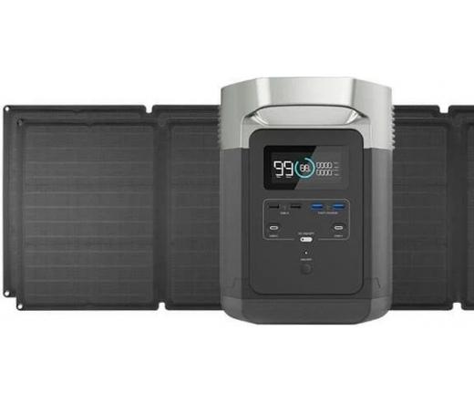 EcoFlow Delta generátor + 2 db napelem