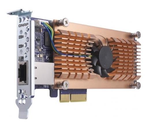 Qnap QM2 M.2 SSD/10GbE PCIe kártya