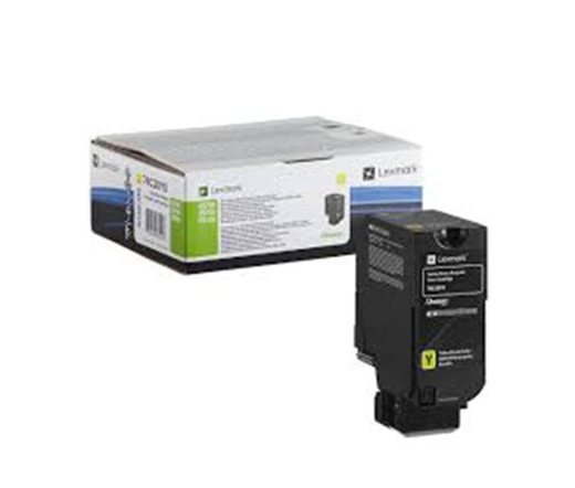 Lexmark CS720, CS725, CX725 visszavételi sárga