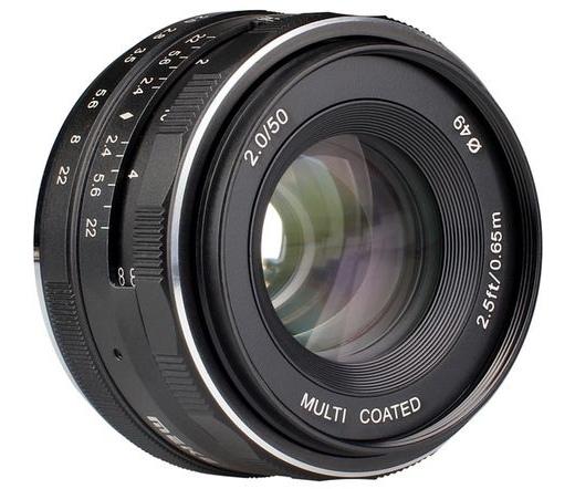 Meike MK-50 F2.0 Canon EF-M