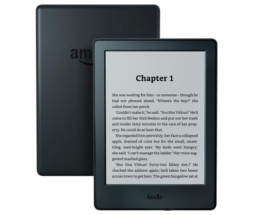 Amazon Kindle fekete, különleges ajánlatokkal