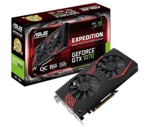ASUS Expedition GeForce® GTX 1070 OC Edition 8 GB