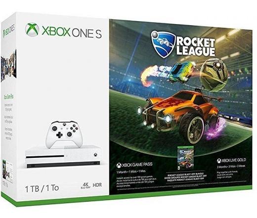 Microsoft Xbox One S 1TB Fehér Rocket League