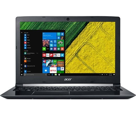 Acer Aspire 5 A515-51G-33A3 fekete