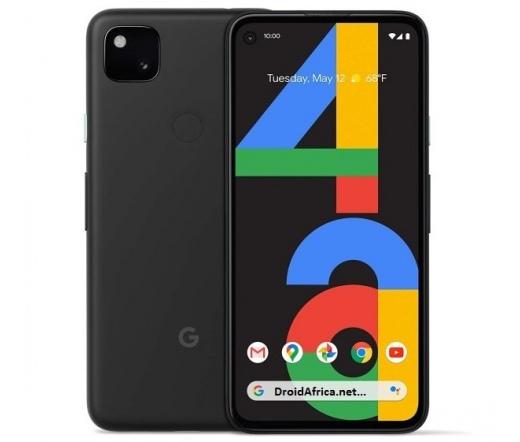 Google Pixel 4a 5G 128GB Fekete
