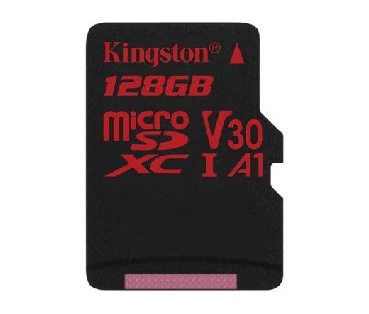 Kingston Canvas React microSDXC 100/80MB/s 128GB